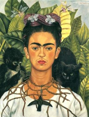 Frida_Kahlo_Autorretrato_con_Monos
