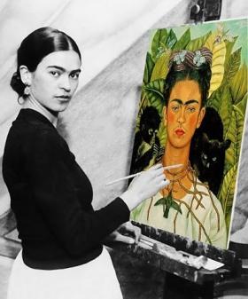Frida_Kahlo_Autorretrato_con_Monos.